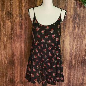 Brandy Melville open back floral dress one size